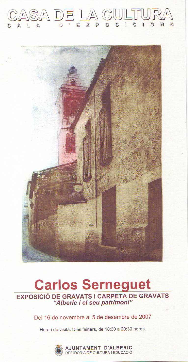 Exposició Carlos Serneguet
